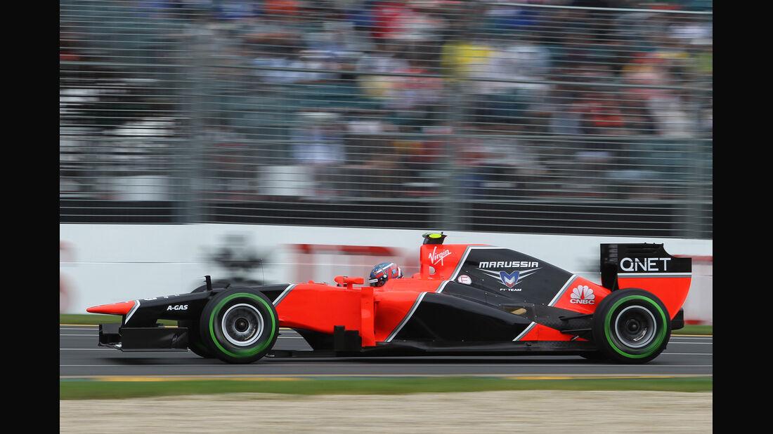 Charles Pic - Marussia - GP Australien - Melbourne - 16. März 2012