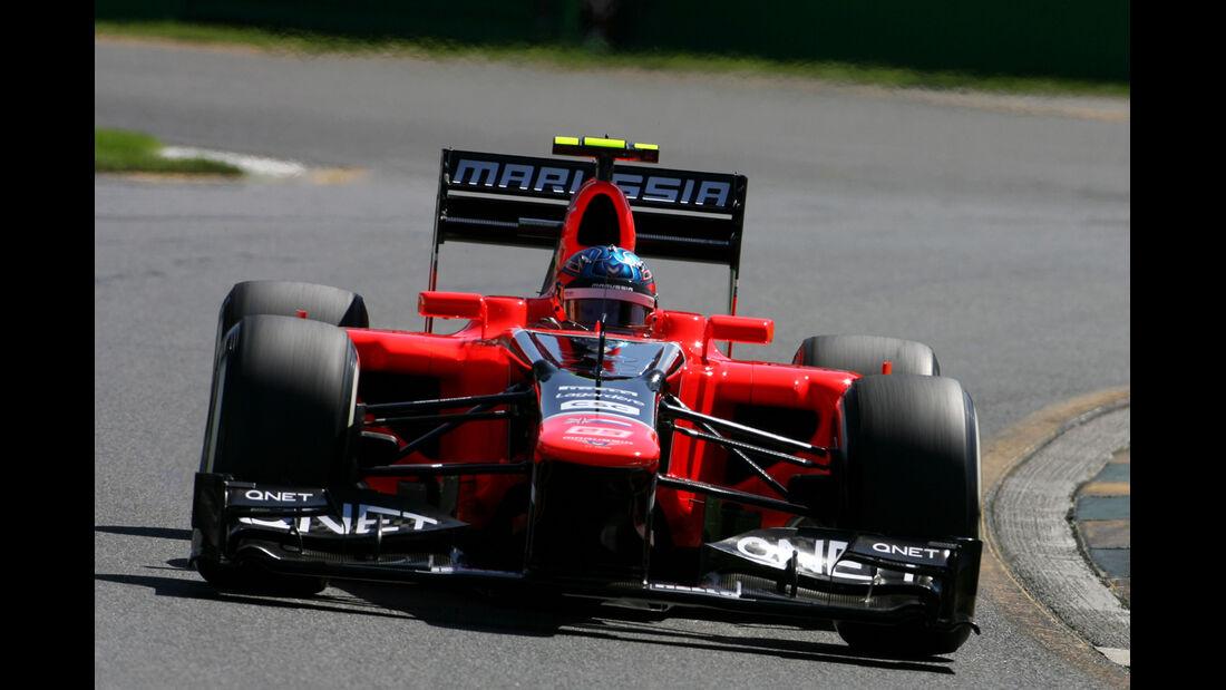 Charles Pic - Marussia - GP Australien - Melbourne - 17. März 2012