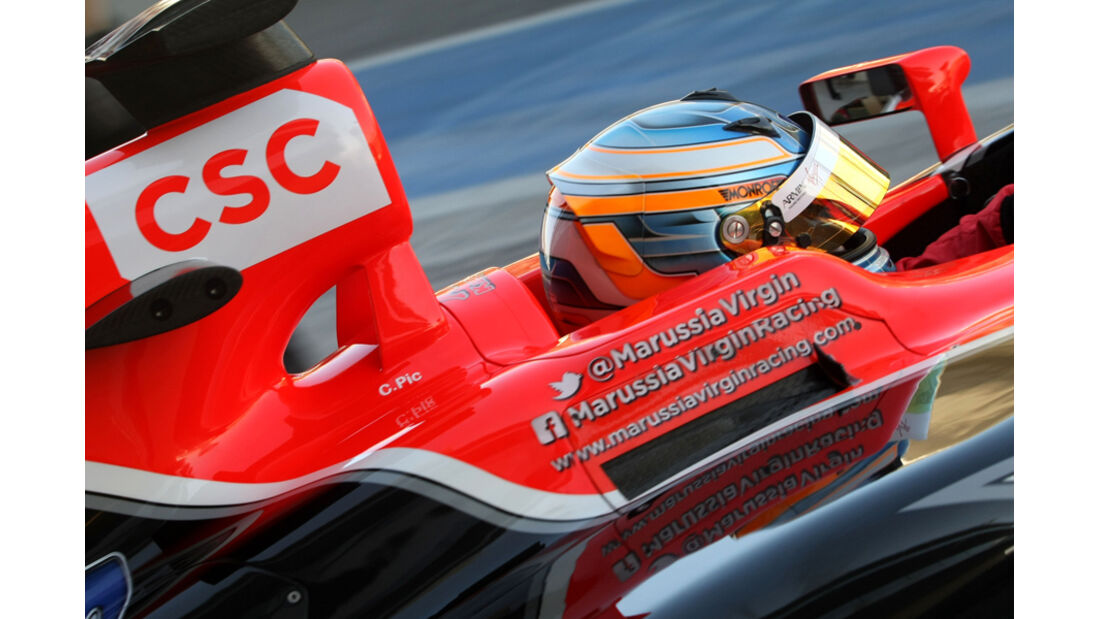 Charles Pic - Virgin - Young Driver Test - Abu Dhabi - 17.11.2011