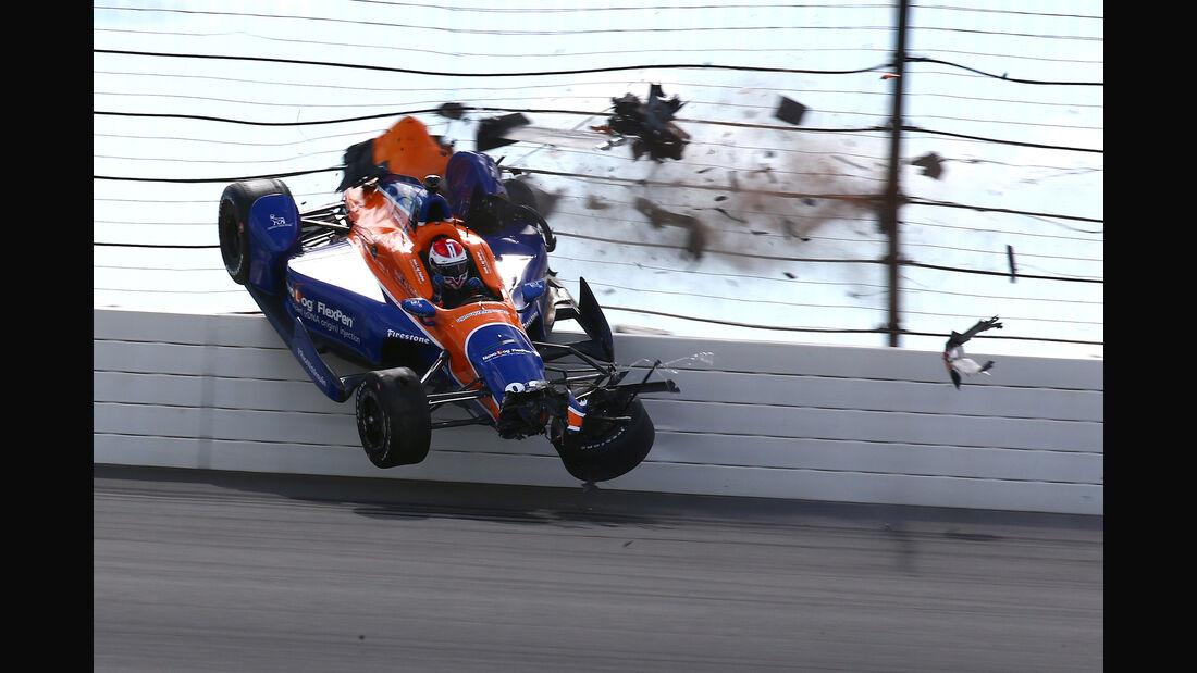 Charlie Kimball - IndyCar - Pocono - 2015