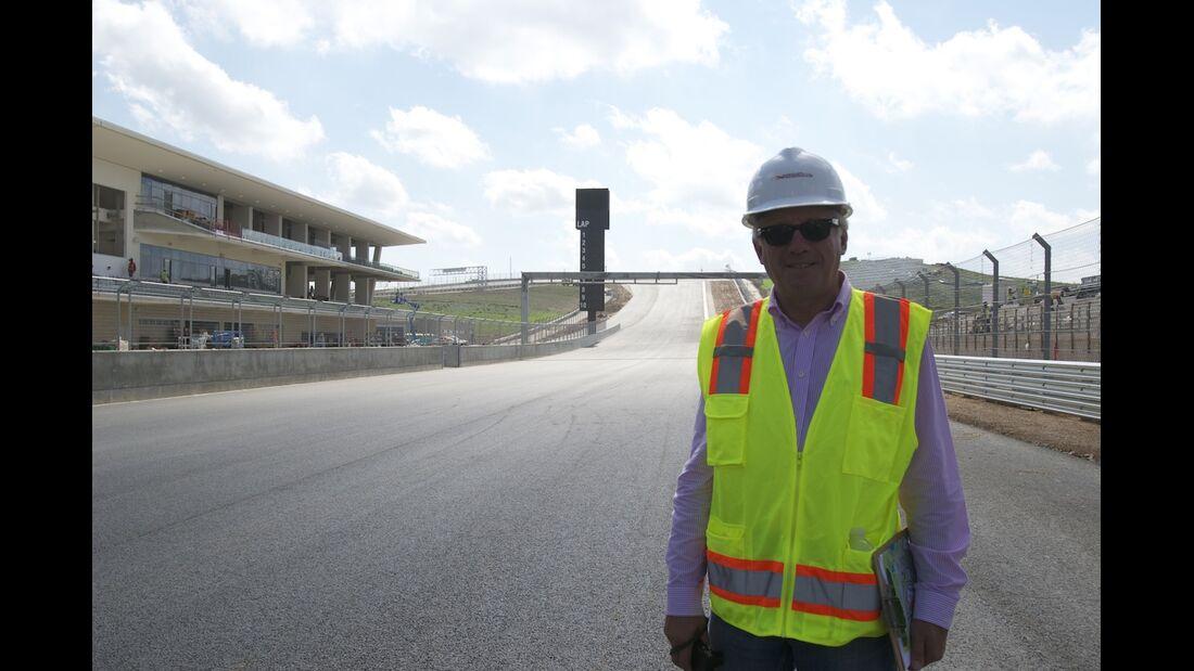 Charlie Whiting Circuit of the Americas Austin GP USA 2012
