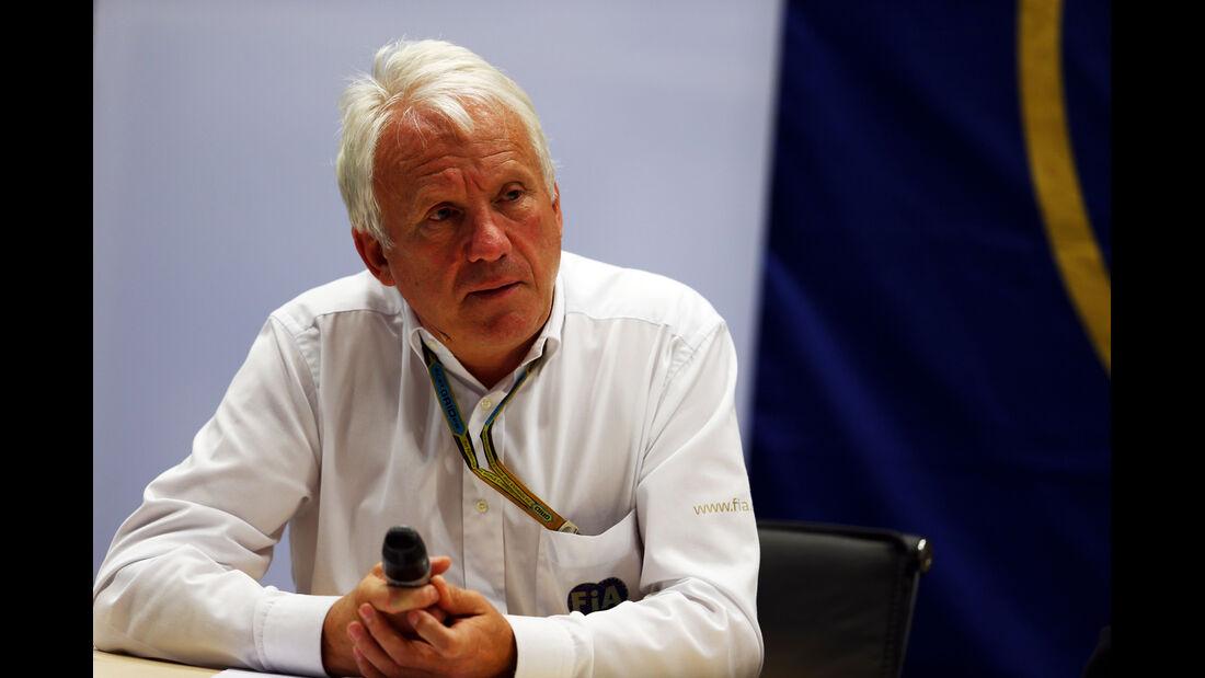 Charlie Whiting - FIA - Formel 1 - GP Russland - Sochi - 10. Oktober 2014