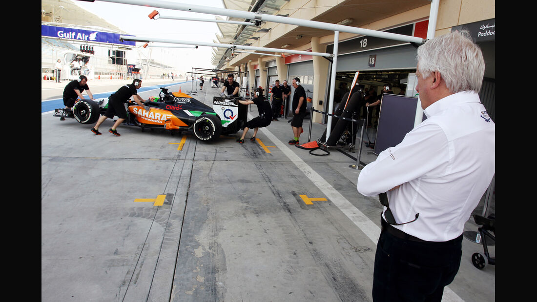 Charlie Whiting - Formel 1 - Bahrain-Test 2014