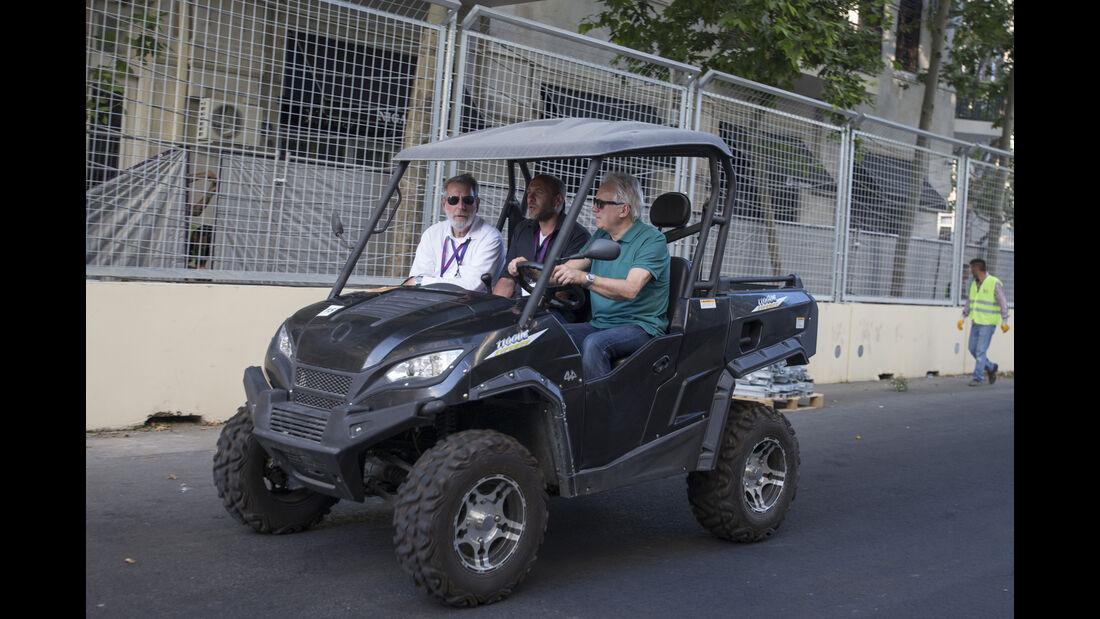 Charlie Whiting - Formel 1 - GP Aserbaidschan - Baku - 14. Juni 2016