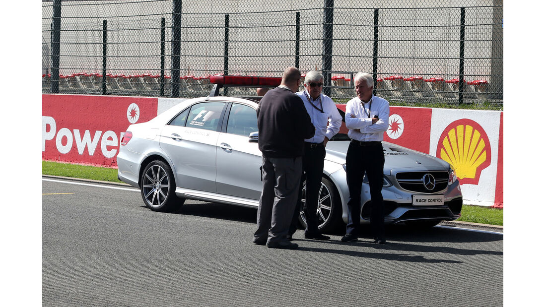 Charlie Whiting - Formel 1 - GP Belgien - Spa-Francorchamps - 22. August 2013