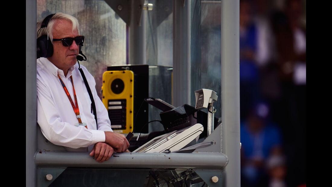 Charlie Whiting - GP Mexiko 2016