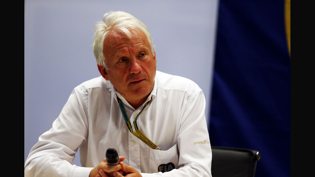 Charlie Whiting - GP Russland 2014