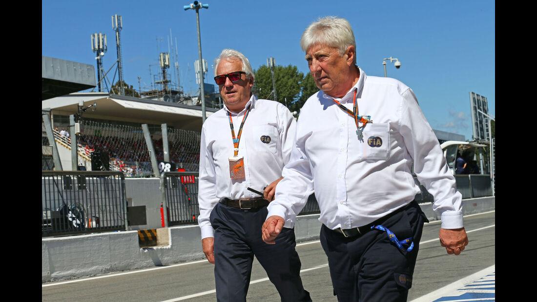 Charlie Whiting - Herbie Blash - FIA - GP Italien 2015 - Monza