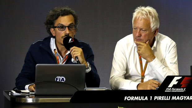 Charlie Whiting & Laurent Meckies - Pressekonferenz Halo - GP Ungarn 2017