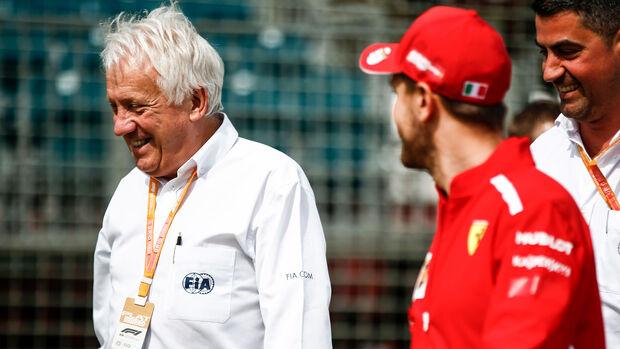 Charlie Whiting & Sebastian Vettel - GP Australien 2019