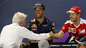 Charlie Whiting & Sebastian Vettel - GP Brasilien 2016