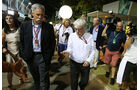 Chase Carey & Bernie Ecclestone - GP Singapur 2016