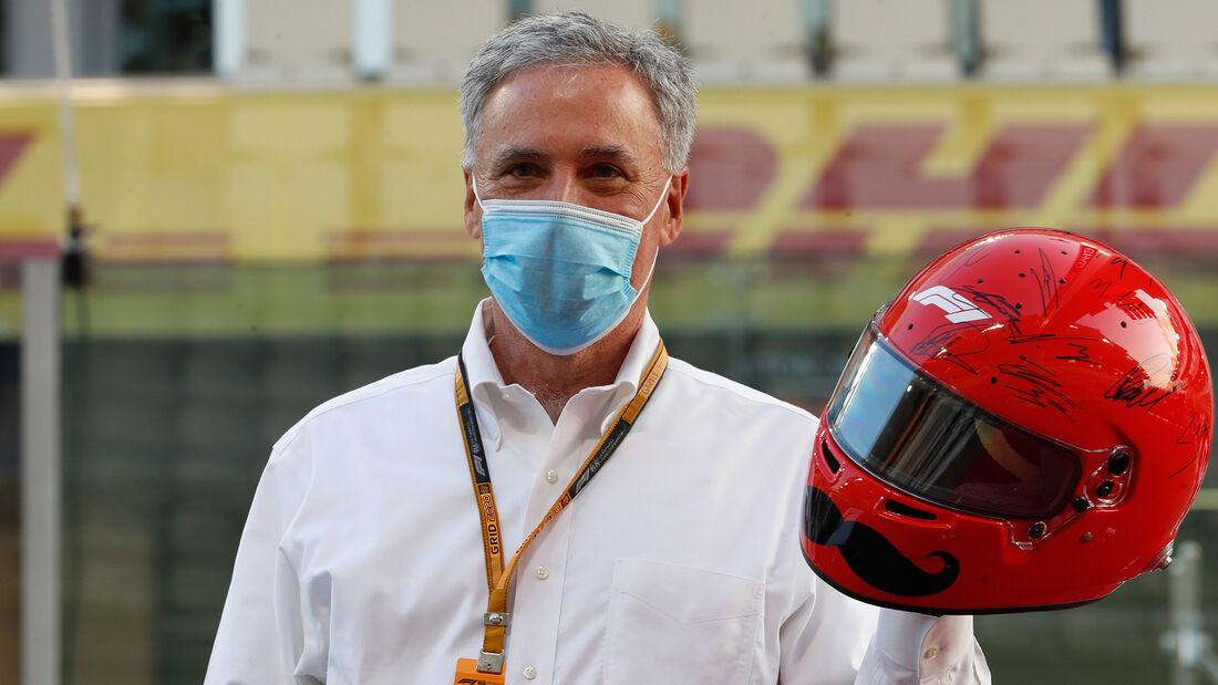 Chase Carey - Formel 1 - GP Abu Dhabi 2020
