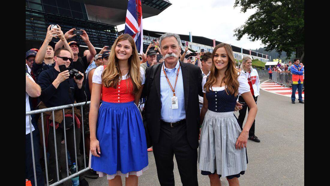 Chase Carey - Formel 1 - GP Österreich - 30. Juni 2018