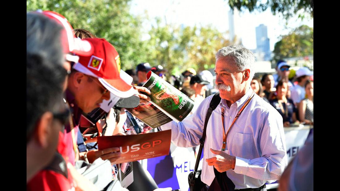 Chase Carey - GP Australien 2018 - Melbourne - Albert Park - Freitag - 23.3.2018