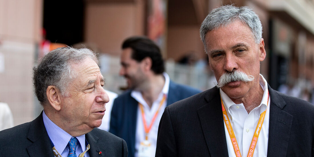 Chase Carey & Jean Todt - F1 - 2019