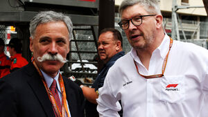 Chase Carey - Ross Brawn - Formel 1 - GP Monaco 2018