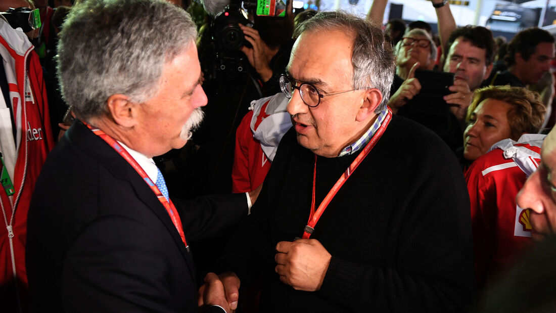 Chase Carey - Sergio Marchionne - Formel 1 - GP Italien 2017- MOnza