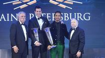 Chase Carey - Toto Wolff - Lewis Hamilton - Jean Todt - FIA - Preisverleihung - St. Petersburg