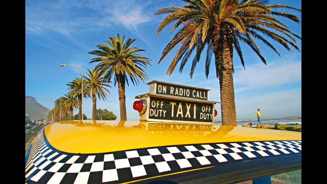 Checker Cab A11, Schachmuster, Dach