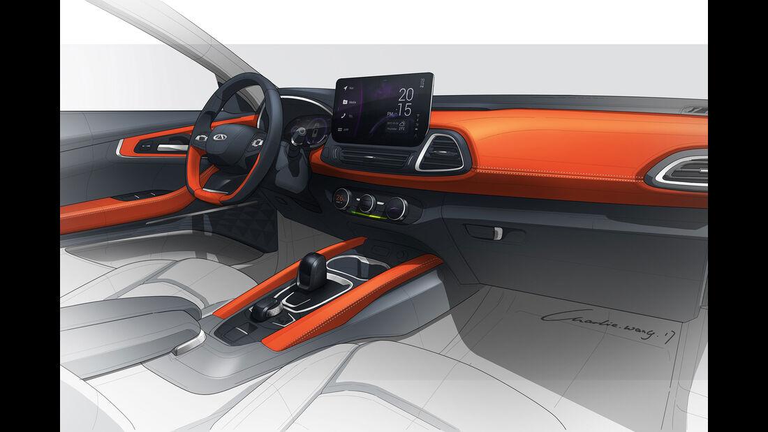 Chery Kompakt-SUV IAA 2017