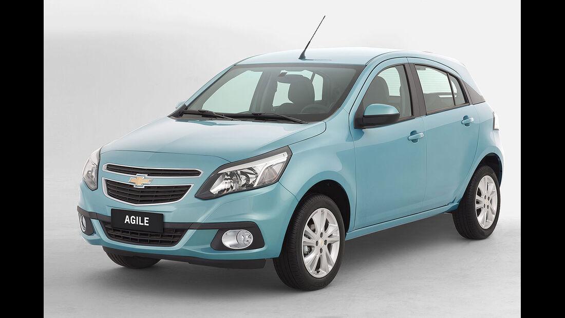 Chevrolet Agile Brasilien