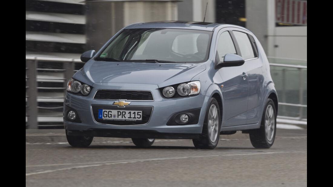 Chevrolet Aveo 1.3 LTZ, Frontansicht