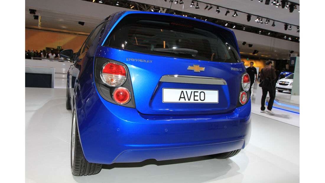 Chevrolet Aveo Paris 2010