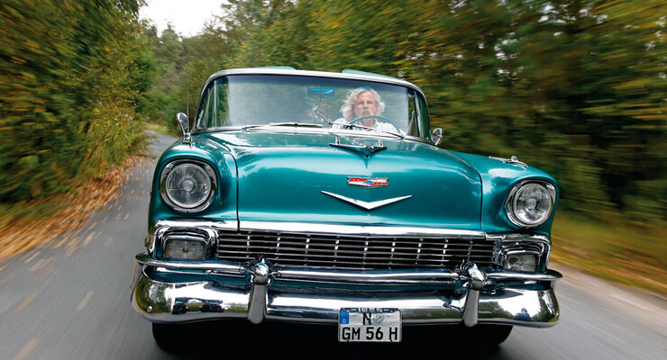 Chevrolet Bel Air Convertible, Baujahr 1956