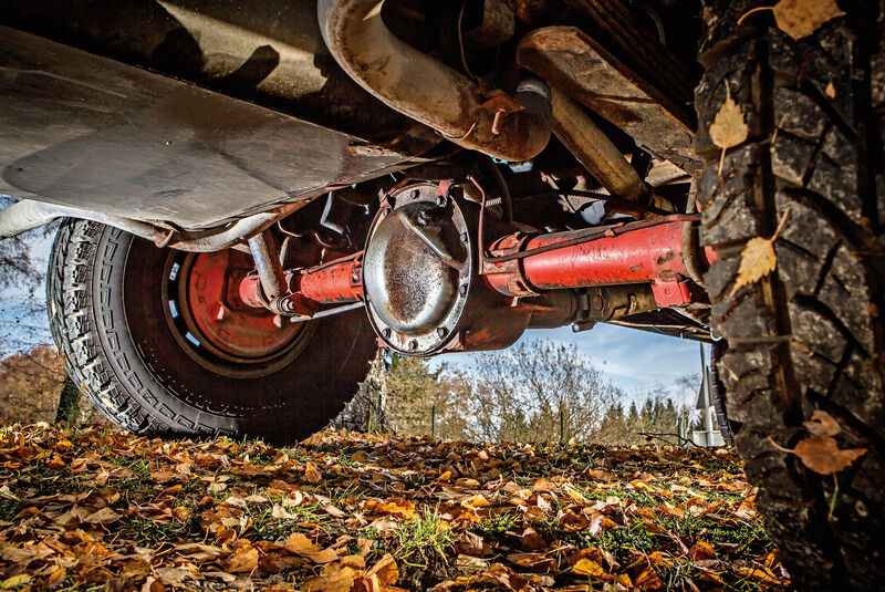 Chevrolet Blazer K-5, Achse