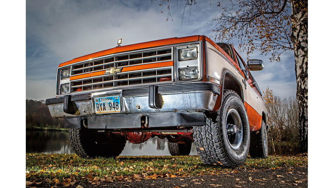 Chevrolet Blazer K-5, Front, Kühlergrill