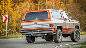 Chevrolet Blazer K-5 im Fahrbericht: Once upon a Time in ...