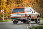 Chevrolet Blazer K-5, Heckansicht