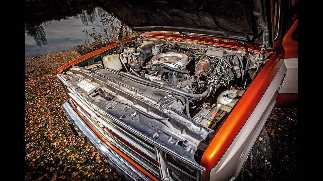 Chevrolet Blazer K-5, Motor