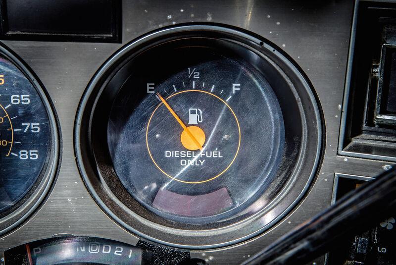 Chevrolet Blazer K-5, Rundinstrumente
