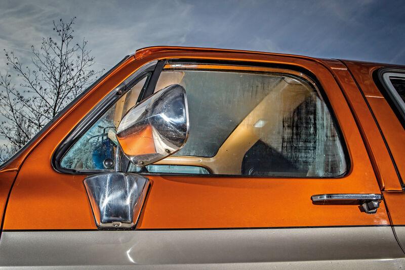 Chevrolet Blazer K-5, Seitenspiegel