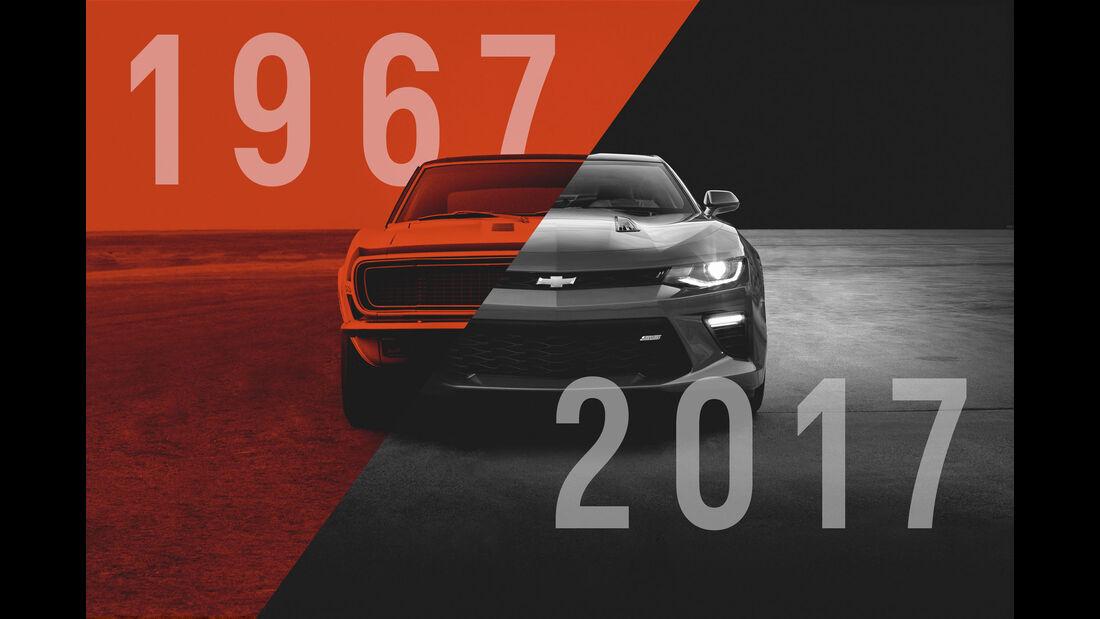 Chevrolet Camaro - 50 Jahre - Muscle Car - Pony Car