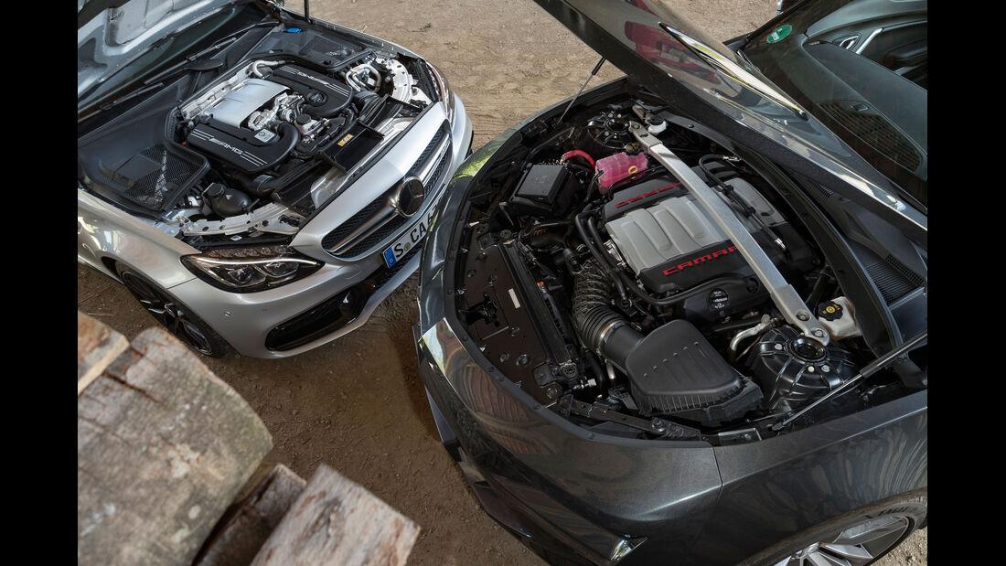 Chevrolet Camaro 6.2 V8 Cabrio Mercedes-AMG C63 Cabrio