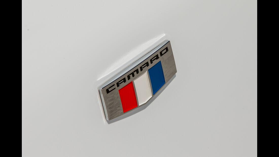 Chevrolet Camaro 6.2V8, Emblem