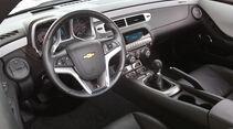 Chevrolet Camaro, Cockpit, Lenkrad