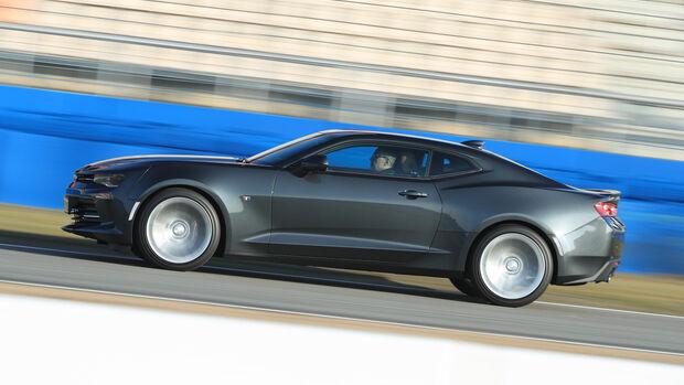 Chevrolet Camaro Coupé 2.0 Turbo, Seitenansicht