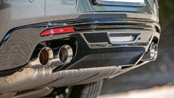 Chevrolet Camaro Coupé 6.2 V8, Auspuff, Endrohre