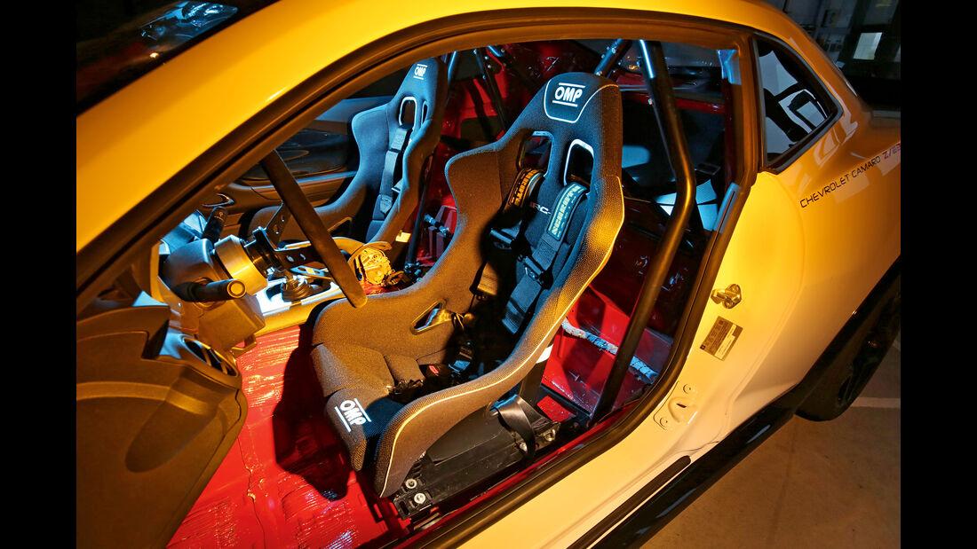 Chevrolet Camaro, Fahrersitz