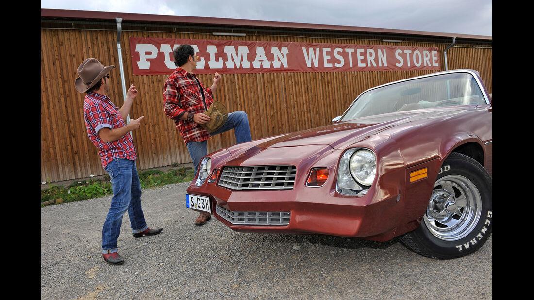 Chevrolet Camaro, Front, Kühergrill