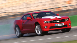 Chevrolet Camaro, Frontansicht, Driften