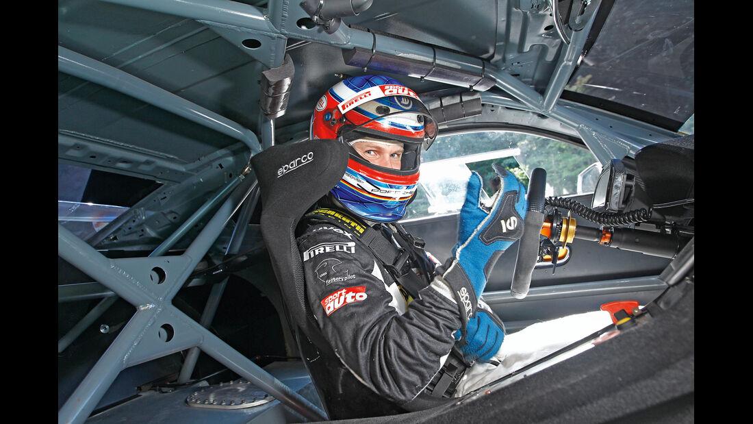 Chevrolet Camaro GT3, Cockpit, Fahrer