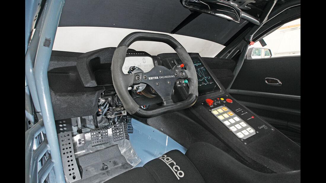 Chevrolet Camaro GT3, Cockpit, Rennausführung