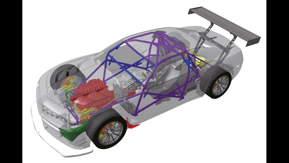 Chevrolet Camaro GT3, Grafik