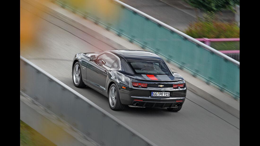 Chevrolet Camaro GT3, Heckansicht