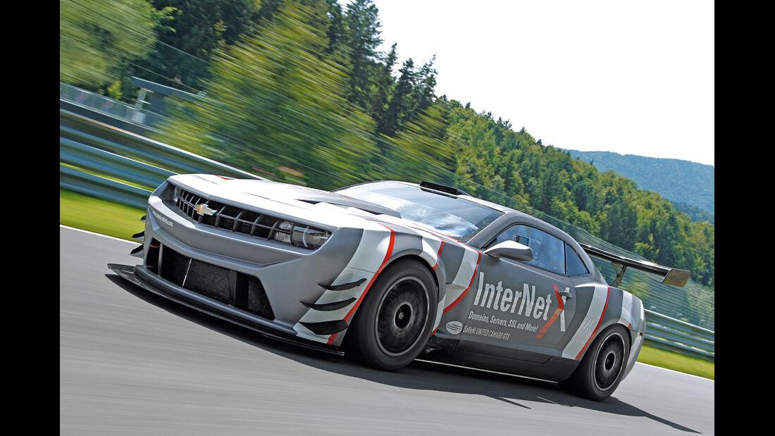 Chevrolet Camaro GT3, Seitenansicht